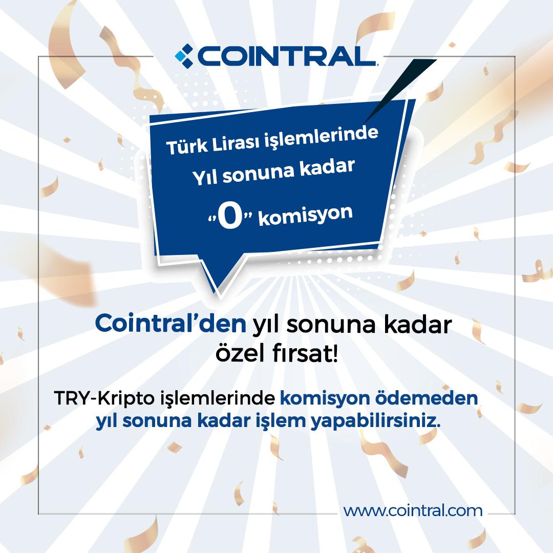 Türk Lirası İşlemlerinde Yıl Sonuna Kadar 0 Komisyon Kampanyası!