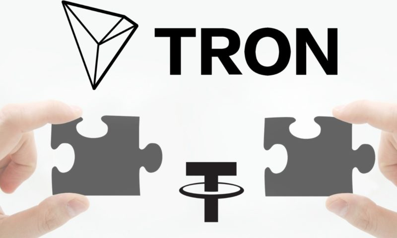 12 percent of USDT on the market was produced by Tron!