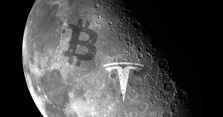 Similarity between Tesla and Bitcoin