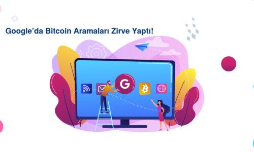 Google'da Bitcoin Aramaları Zirve Yaptı!